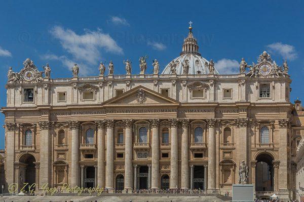 Basilica of Saint Peter Vatican City Italy