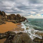 Seashore Arenys de Mar Spain