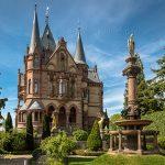 Castle Drachenburg in Konigswinter Germany