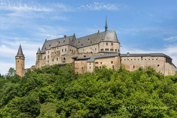 Castle Vianden in Luxembourg