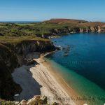 Bretagne coast near Crozon France