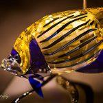 Crystal fish in Swarovski museum