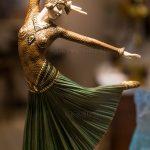 Dancing girl sculpture at St. Paul de Vence