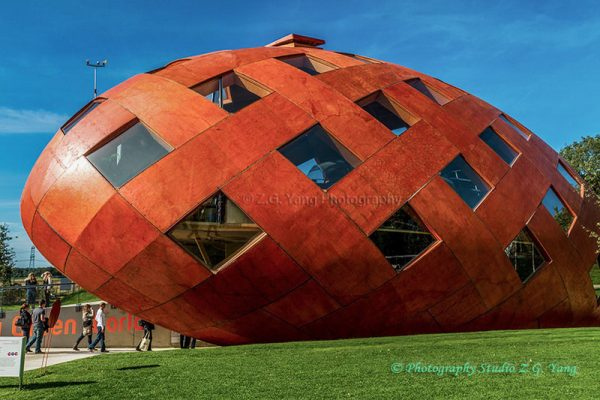Bullet house at Floriade World Horti Expo 2012 Netherlands