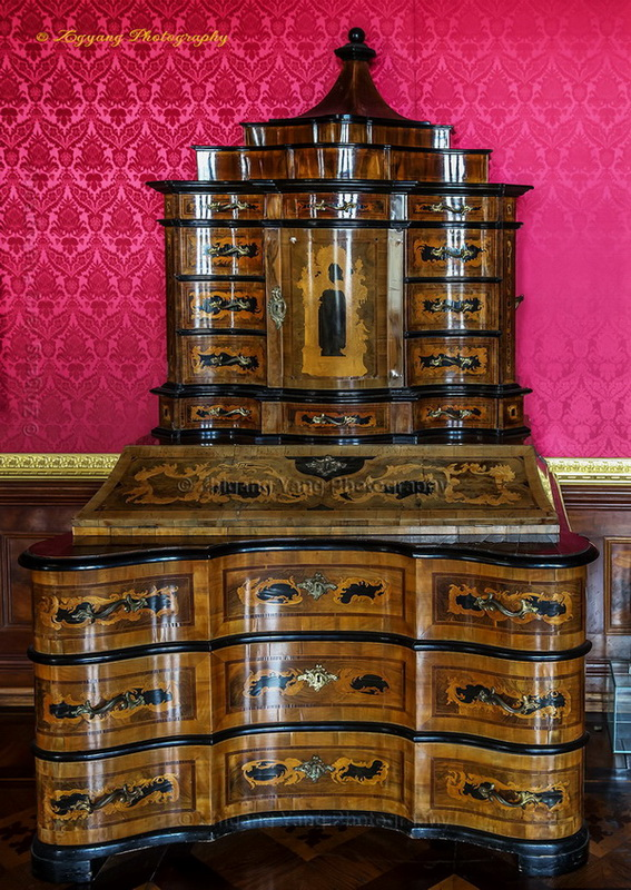 Classic furniture in Castle Schwerin Germany