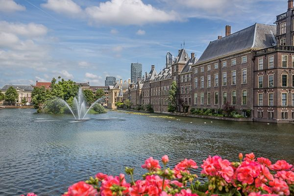 Houses of parliament the Netherlands in the Hague