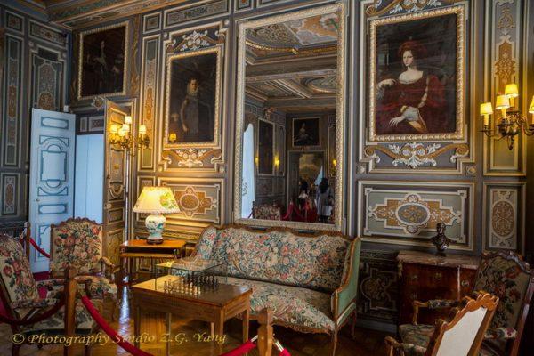 Interior Castle Cheverny France