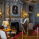 Interior decoration in castle Cheverny