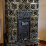 Heating stove in Castle Schwerin