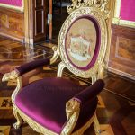Classic chair in Castle Schwerin Germay