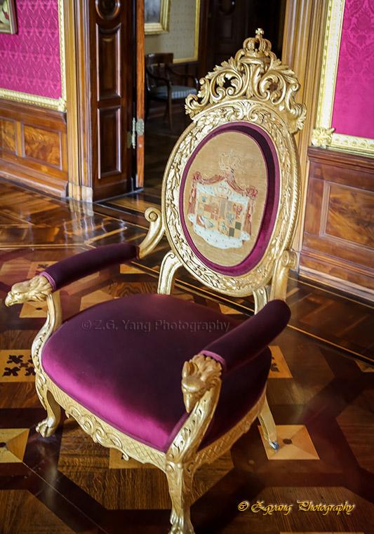 Classic chair in Castle Schwerin Germay
