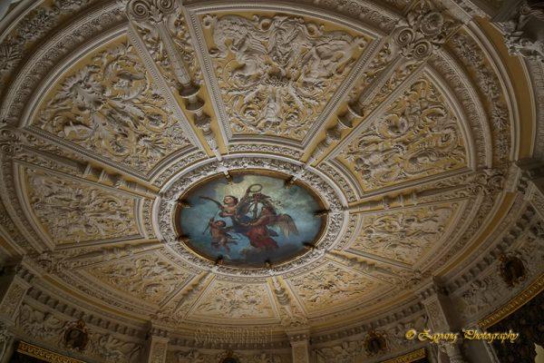 Ceiling decoration in castle Schwerin