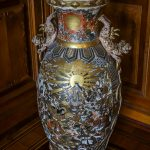 Porcelain vase in Castle Schwerin