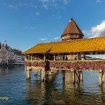 Chapel Bridge in Lucerne Zwitzerland