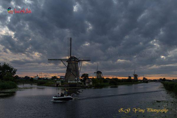 Windmills of Kinderdijk Netherlands