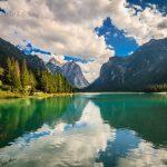 Lake Dobbiaco Italy