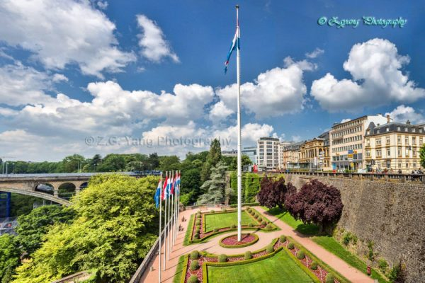luxembourg cityscape
