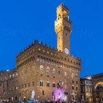 Palazzo Vecchio town hall of Florence Italy