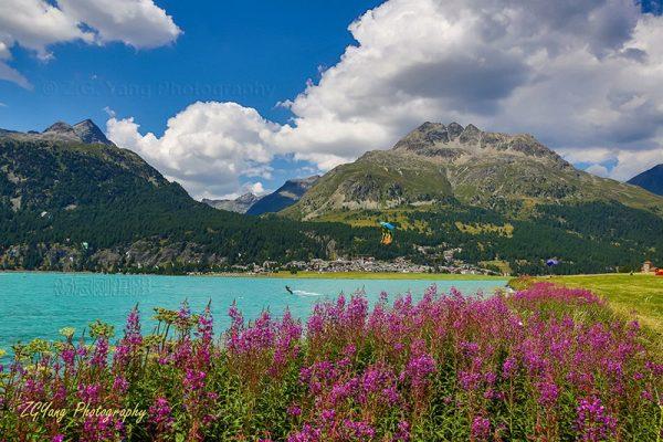 Lake Silvaplanersee Switzerland