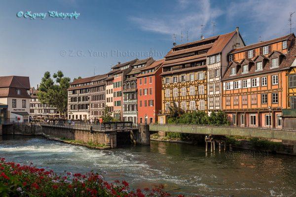 Petite France in Strasbourg France