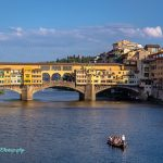 Vechio bridge in florence Italy