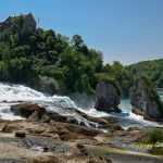 Waterfall Schaffhausen Switzerland