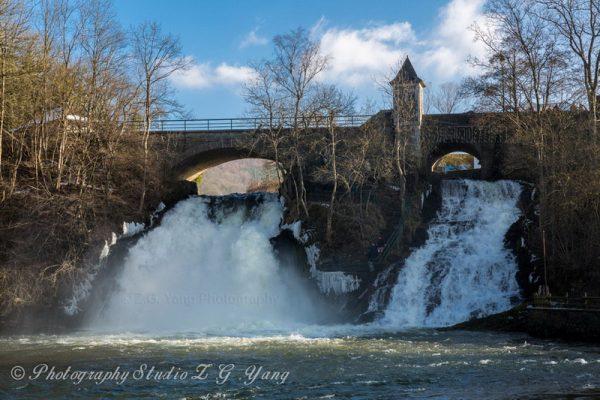 Waterfall of Grand Coo Belgium