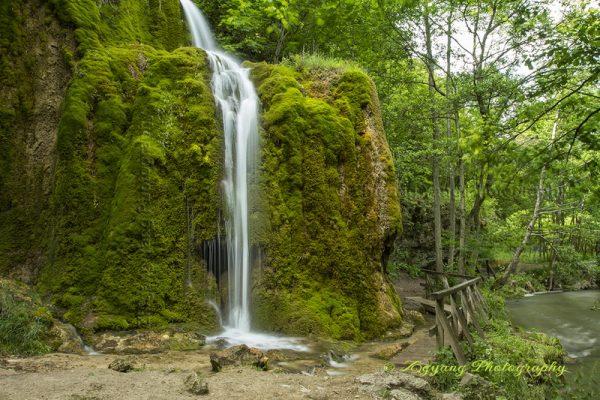 Dreimuhlen waterfall near Nohn Germany