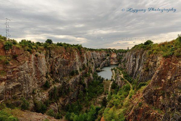 Abandoned quarry Velka Amerika