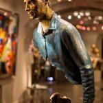 法国圣保罗德旺斯的艺术雕塑