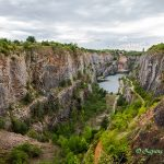 捷克废弃的采石场韦尔卡亚美利加