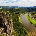 德国巴斯泰石林和易北河
