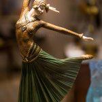 法国圣保罗·德旺斯的舞女雕塑