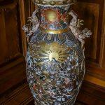德国施威林城堡内的瓷花瓶