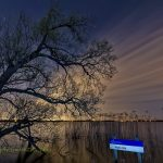 荷兰鲁斯德雷赫特湖之夜