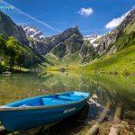瑞士希阿尔卑湖