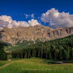 意大利多洛米蒂山峰