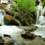 克罗地亚普利特维采湖瀑布