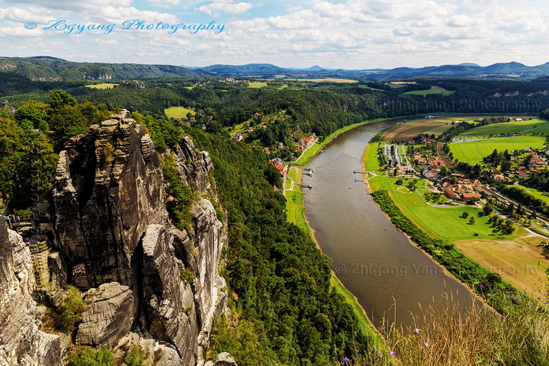 basteiblick-and-elbe-river