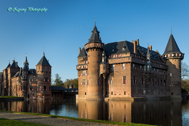 castle-de-haar-front