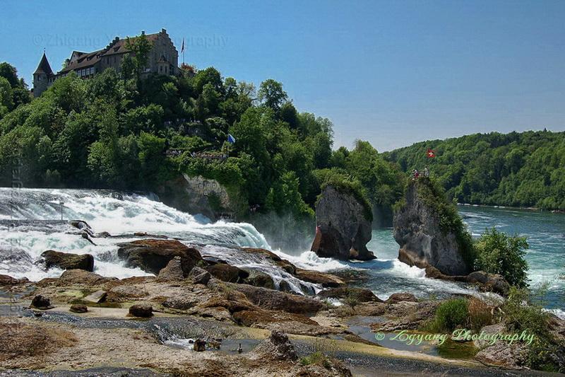 waterfall-schaffhausen