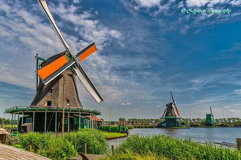 zaan-schaans-windmills